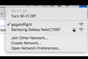 這玩笑別亂開!Wi-Fi 名稱改成「Note 7」害飛機差點迫降!