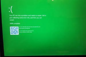 藍天變綠地?Windows 10 將改變「經典當機畫面」!