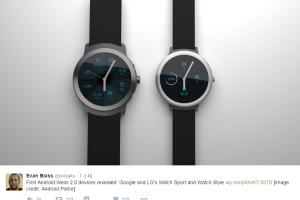 Android Wear 2.0 升級日曝光!LG 還準備了新手錶?