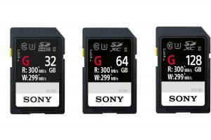 全球最快記憶卡!Sony SF-G 系列在台上市!