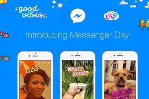 Facebook Messenger 全新功能上線!「每日隨手拍」5 千種特效隨你玩!