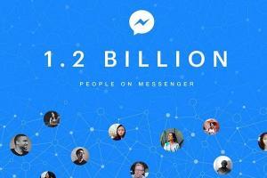 Facebook Messenger 超夯!每月活躍躍戶突破 12 億!