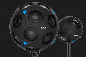 邁向新影像時代,Facebook 推出 8K 級VR 相機!
