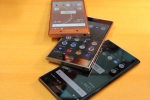 鏡面好華麗!Sony XZ Premium 超美 3 色實機快速動眼看!