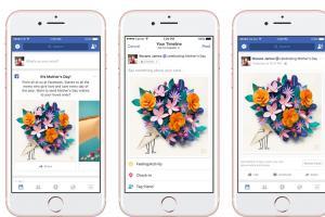 不只有紫色小花!Facebook 還有這 3 大母親節驚喜功能!