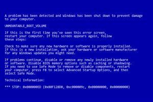 用戶小心!新漏洞讓 Windows 電腦進入「藍色當機畫面」!