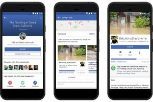 Facebook 臉書平安通報站加入4大新功能 將可線上募款
