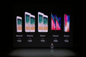 首款窄邊框 iPhone X 亮相!台灣售價35,900 元起、 10/27 開放預購