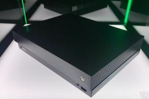 地表最強遊戲主機來了!微軟 Xbox One X 台灣 7日凌晨首賣