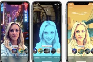 Apple Clips 影片錄製 App 重大更新!加入iPhone X 專屬「情境特效」