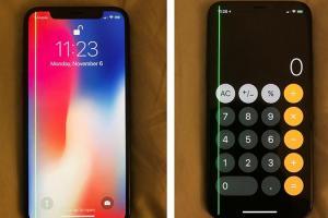 iPhone X 螢幕出現「綠線」異常!全球至少 25 起案例傳出