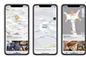 到哪個機場都不迷路了!Apple 地圖新增多國機場位置圖