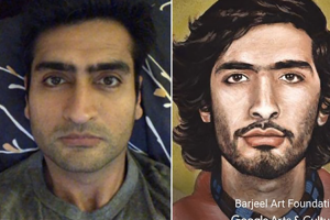 你的自拍照跟世界名畫有明星臉?Google 用 APP 幫你配對