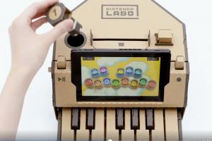 超豪華紙板玩具?任天堂宣佈 Switch 全新「DIY」創意玩法!(內有影片)