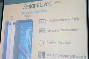 Zenfone系列再添新兵!華碩首款「輕量級」Android 新機亮相