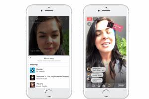 Facebook 推出音樂新功能!允許用戶「對嘴」歌唱