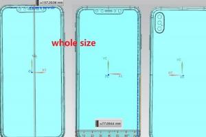 6.5吋 iPhone 最新設計圖流出!權威外媒爆料:將採用「三鏡頭」設計