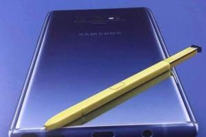「S Pen」改配亮眼新色!爆料達人曝光三星 Note 9 完整渲染圖