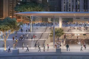 台灣第二間「蘋果直營店」曝光!有可能採用「Mac式屋頂」?