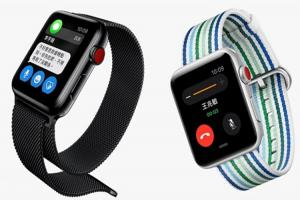 金閃閃的第 4 代 Apple Watch 官方照曝光!驚現多了一個神秘小孔?