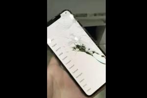 悲劇!iPhone XS Max 拿到手就摔機,網友哭喊:五萬飛了!