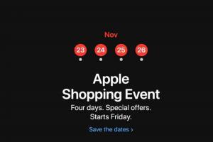破天荒長達4天!蘋果官網預告本週推出「黑色星期五」特賣活動