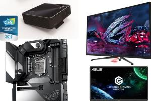 電競科技熱夯!華碩與 ROG 玩家共和國 4 項新品獲 CES 2019 創新獎!