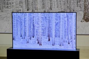 省空間又美觀!LG將4K OLED電視像海報一樣「捲」起來