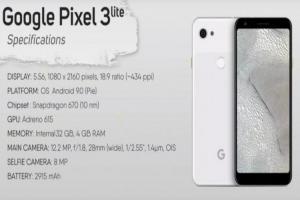 耳機孔回歸、未閹割的相機技術!Google Pixel 3 Lite被提前「開箱」