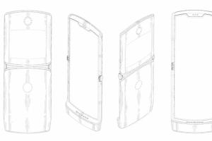 重生版MOTO RAZR摺疊專利照露餡:維持經典造型、雙螢幕設計!