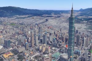 Google Maps進化了你有發現嗎?全新3D衛星影像讓台北101站起來