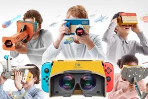 Switch 主機一秒變身 VR眼鏡!任天堂推全新擴充配件套裝組合