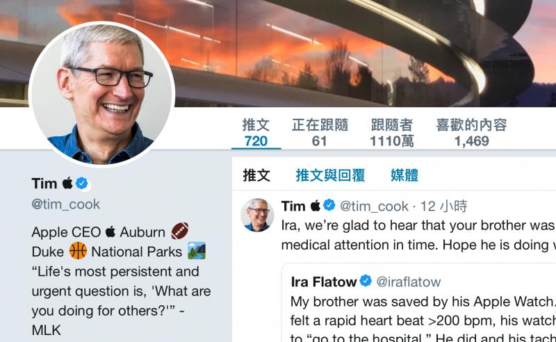 被川普叫「提姆蘋果」!蘋果 CEO 庫克回應了