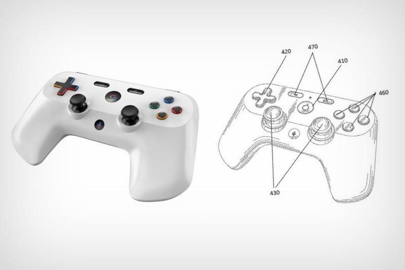 力戰 PS4、Switch 搶「玩家」市場?Google 遊戲搖桿專利圖曝光
