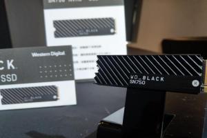 主打遊戲玩家、添加散熱片模組!WD Black SN750 NVMe SSD硬碟上市