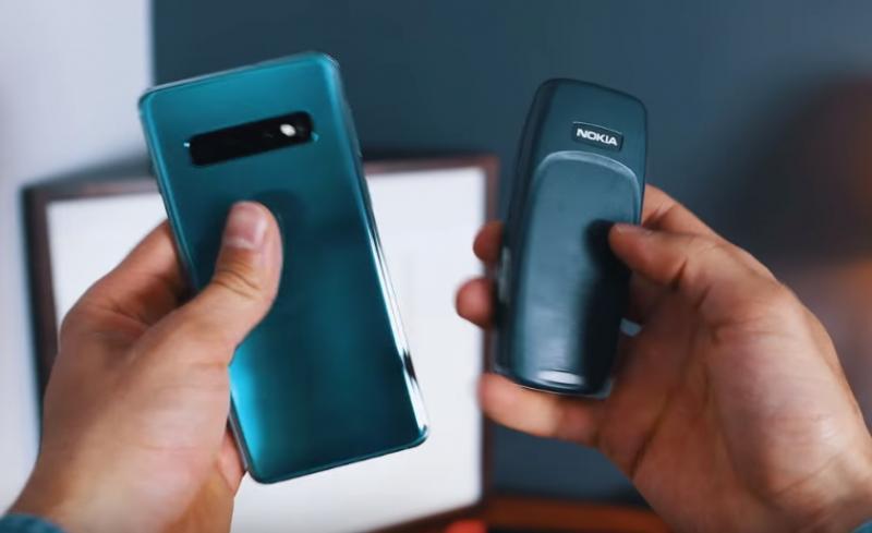三星旗艦S10、Nokia 3310「耐摔度」對決!100層樓高度摔下,實測結果是...