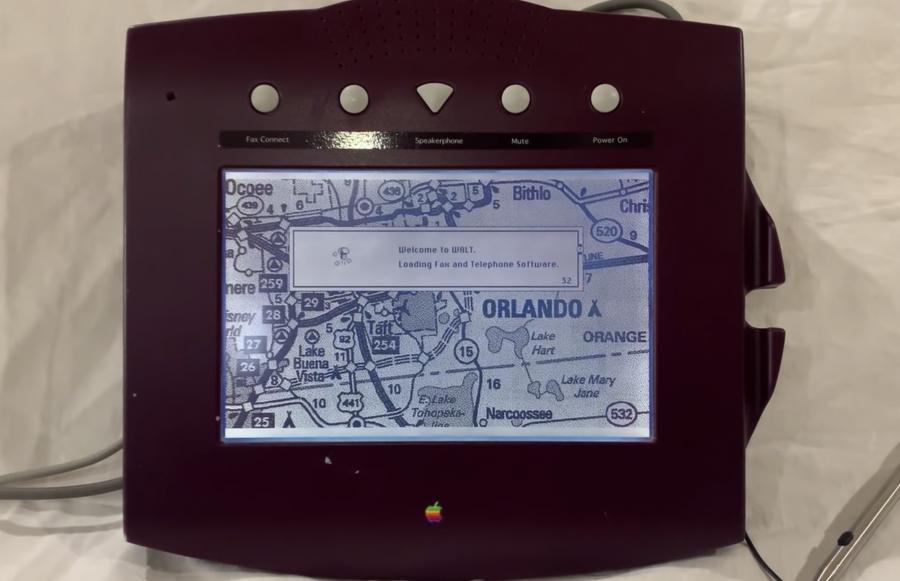 iPhone 的大前輩是它?蘋果 26 年前未上市的「觸控電話」曝光