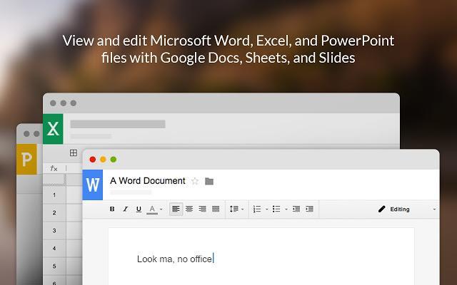 谷哥推出超佛心功能!Google 文件也能直接編輯微軟 Office 檔案了