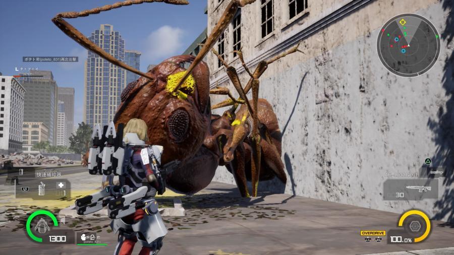 《地球防衛軍:槍林彈雨》破關評測:體驗被巨型螞蟻成群毆打的恐懼