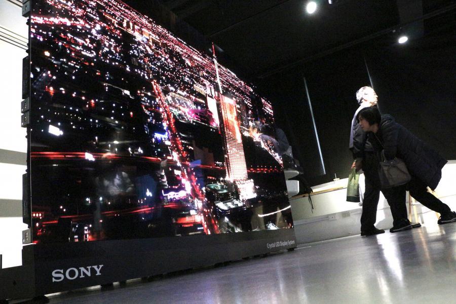 猜猜有幾塊?Sony CLED 拼圖螢幕首度於台亮相
