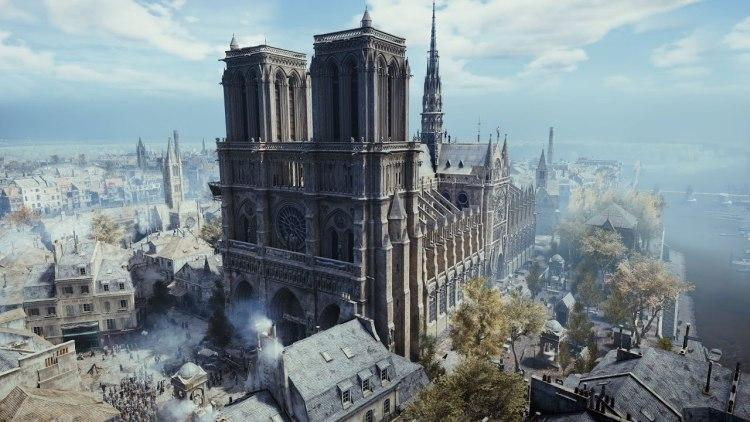 巴黎人哭泣!聖母院毀於大火、網熱議還好有這款遊戲