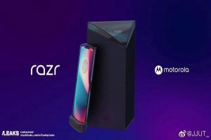 MOTO RAZR 摺疊手機外型曝光!外盒設計好吸睛