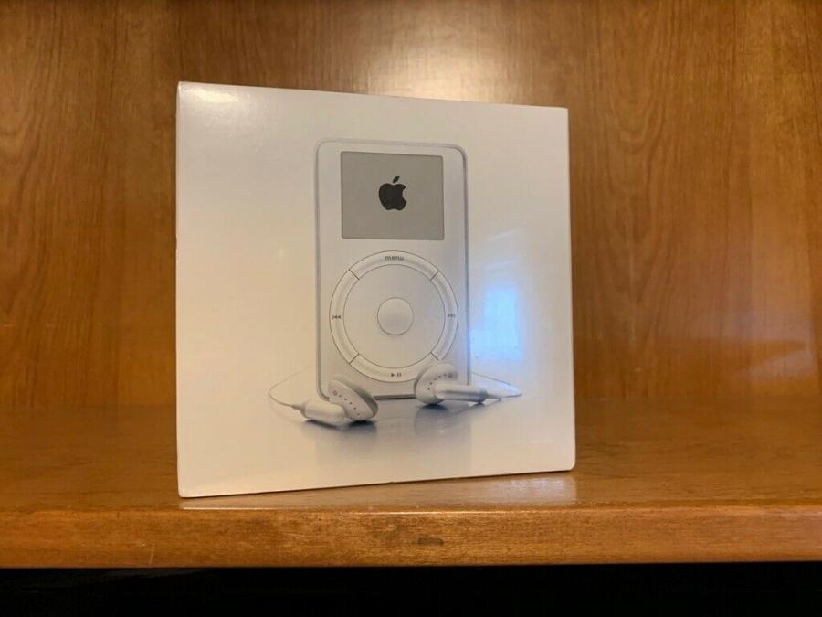 18 年前被嫌貴、沒創意!蘋果初代 iPod 現在天價開賣