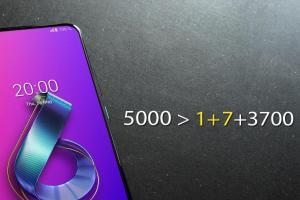 華碩 ZenFone 6 官方正面照大放送!大嗆 OnePlus 新機電量不夠看