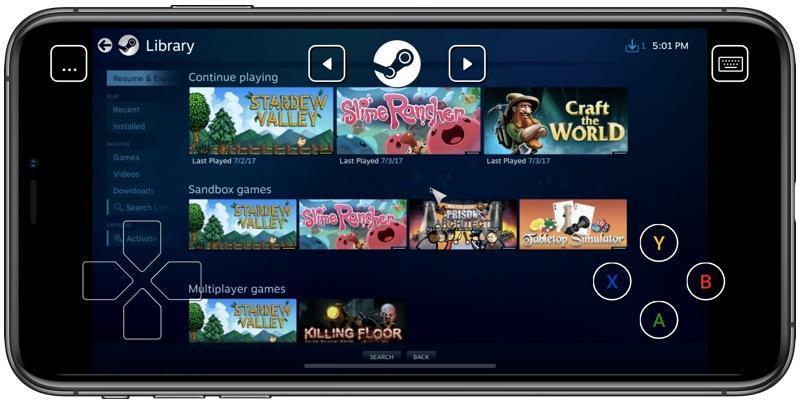 iPhone 可以遠端玩電腦遊戲!「Steam Link」iOS 版正式上架
