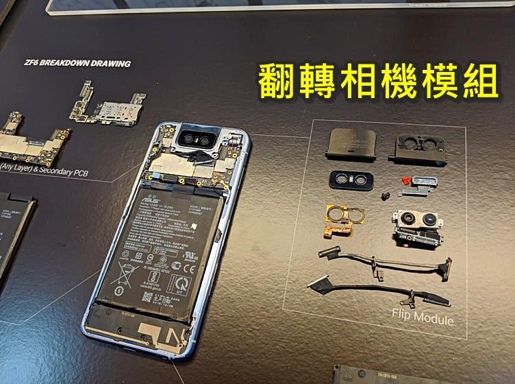 直擊揭密!華碩新旗艦 ZenFone 6 前後相機會翻轉,內藏超神黑科技
