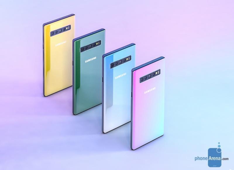 與 iPhone XR 爭豔?傳三星 Note 10 顏色、設計都有大突破