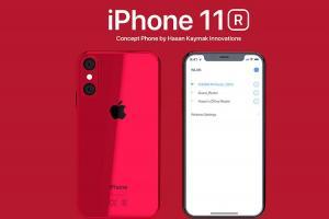 搶眼新色、雙鏡頭!蘋果 iPhone 11R 概念圖流出