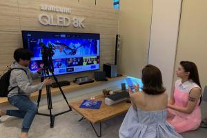 直擊三星 QLED 量子電視!內建 Apple TV、跨平台服務成亮點
