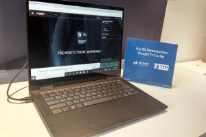 高通攜手聯想!全球首款 5G 輕薄筆電首度於台北電腦展亮相,超吸睛!